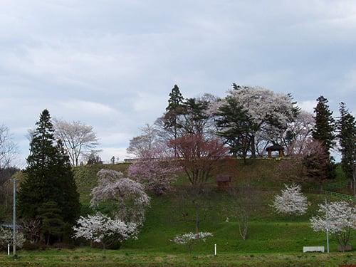 浮牛城址の風景