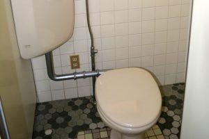 洋式トイレ完備