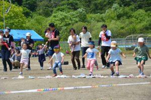 幼児徒競走
