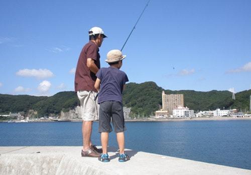 海釣りのイメージ