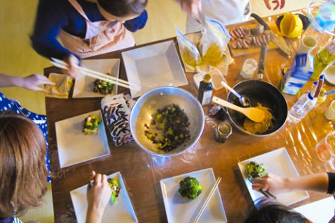 冬の料理教室
