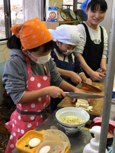 親子料理教室