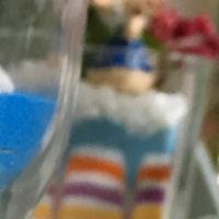 グラスでカラーサンドを作りましょう