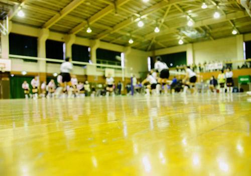 ソフトバレーボール大会開催