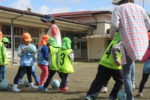 サッカー教室(口内保育園)