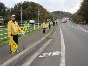 交通安全街頭指導