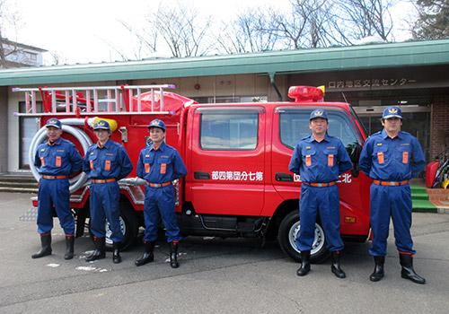 新しくなった消防車